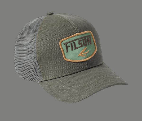 Filson Logger Mesh Cap - Balsam Green