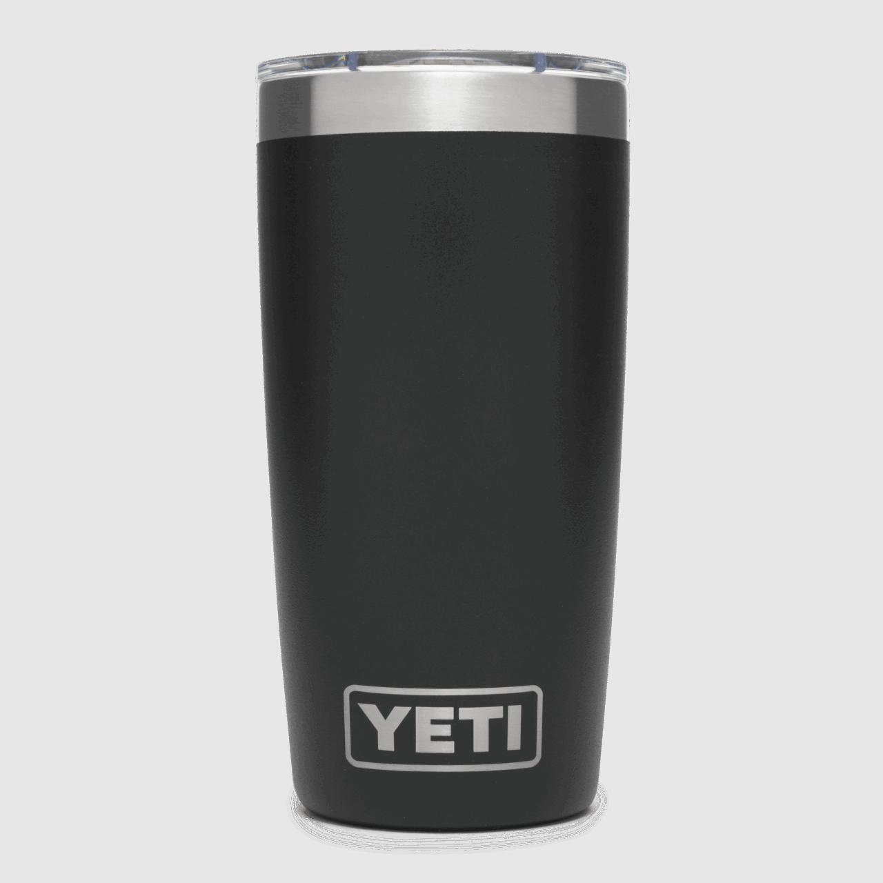 YETI Rambler 10 oz Becher - black