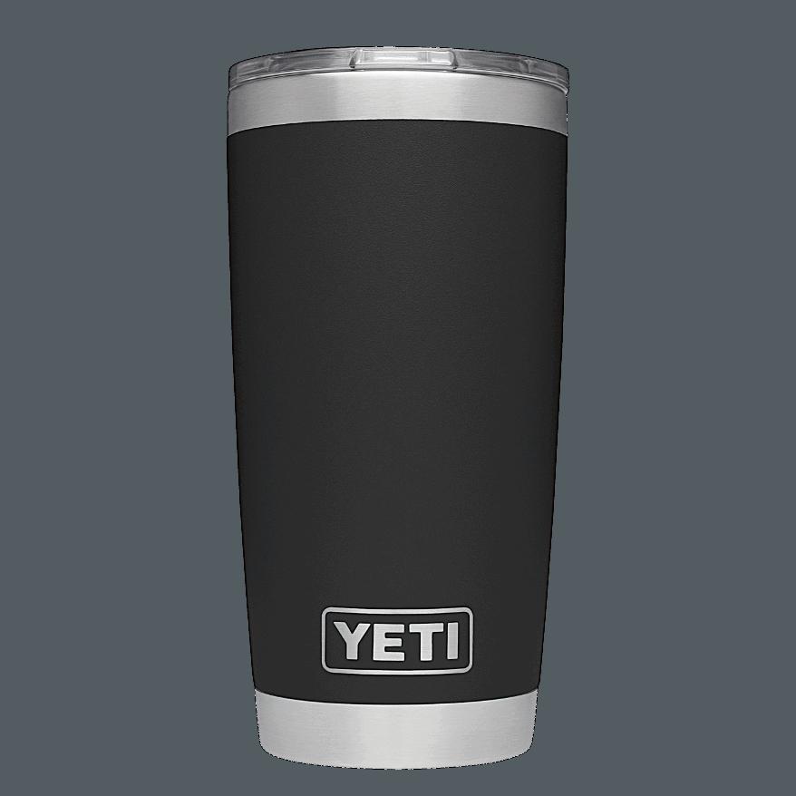 YETI Rambler 20oz (600ml) Becher - black