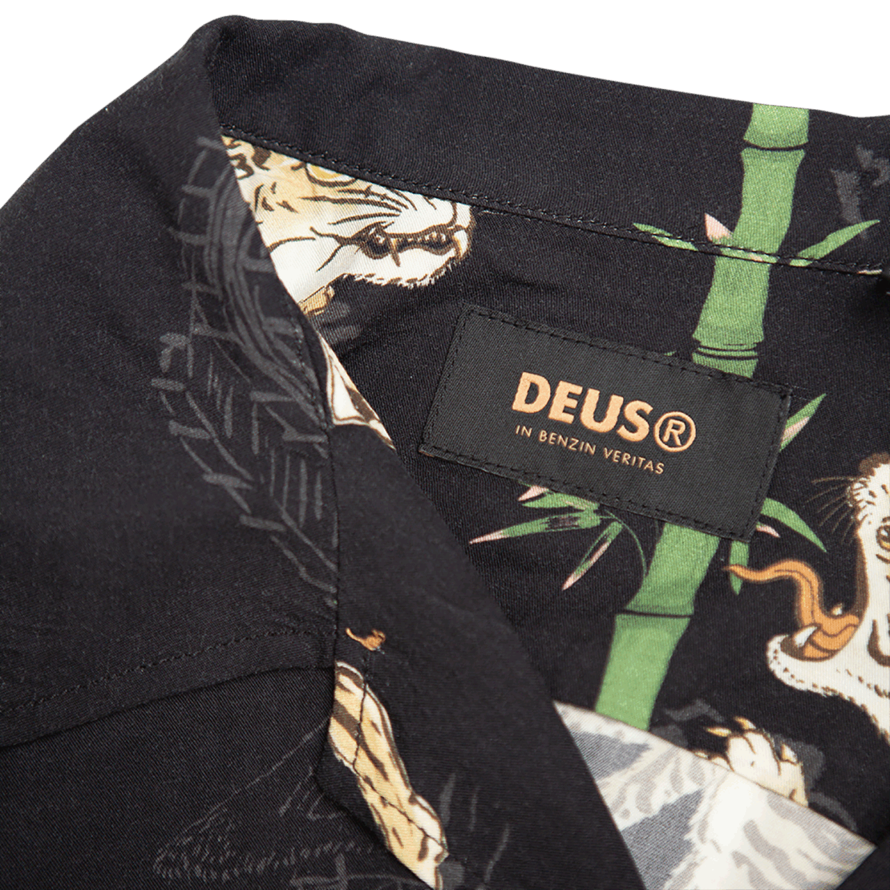 Deus Solstice Ss Shirt - Black