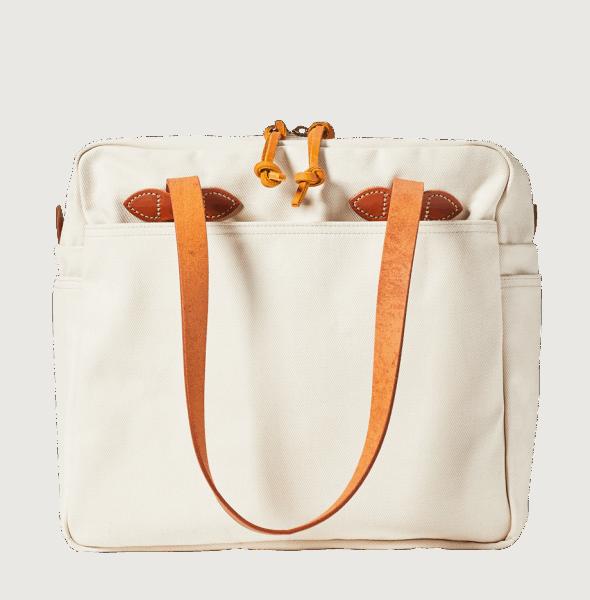 Filson Zip Tote Bag - Natural