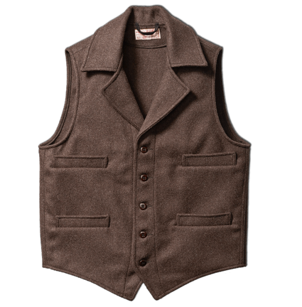 Filson Western Vest - Brown