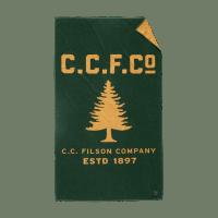 Filson Pine Tree Towel - green