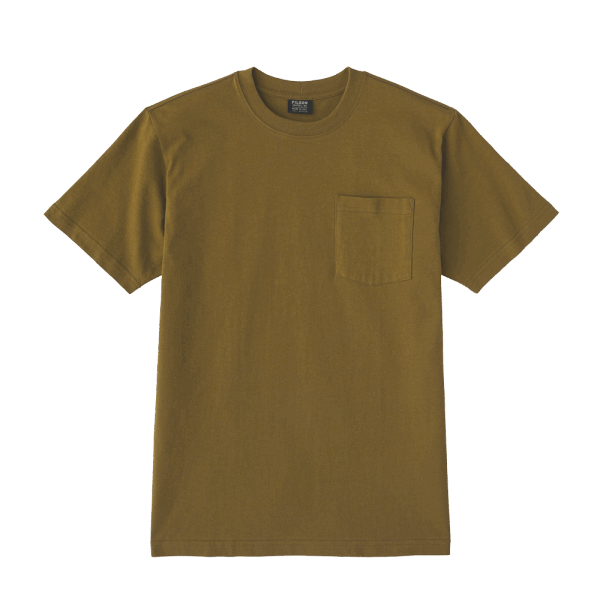 Filson Outfitter Solid One Pocket T-Shirt - olive drab