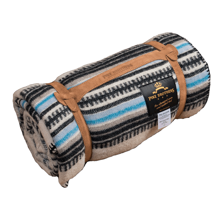 Pike Brothers 1969 Chimayo Blanket - blue