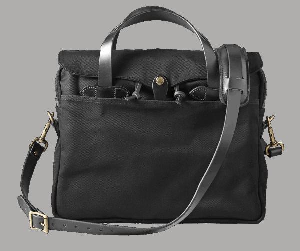 Filson Rugged Twill Original Briefcase - Black