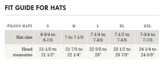 Filson Tin Packer Hat - tan
