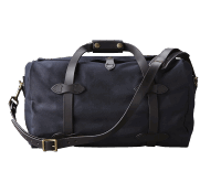 Filson Small Rugged Twill Duffle Bag - Navy