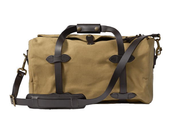 Filson Small Rugged Twill Duffle Bag - Tan