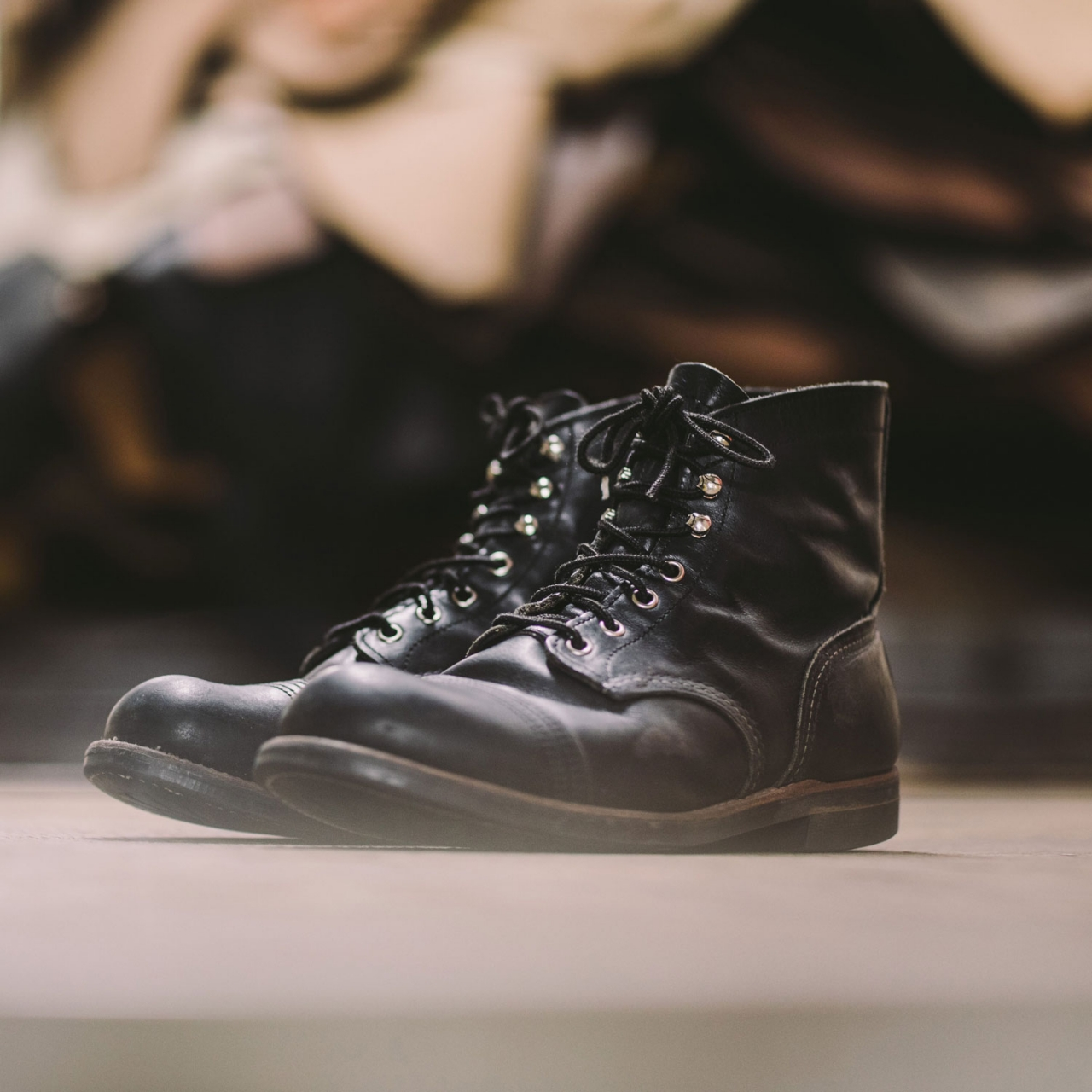 Red Wing 8084 Iron Ranger - Black Harness