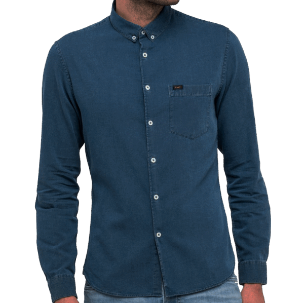 LEE Premium Slim Button Indigo