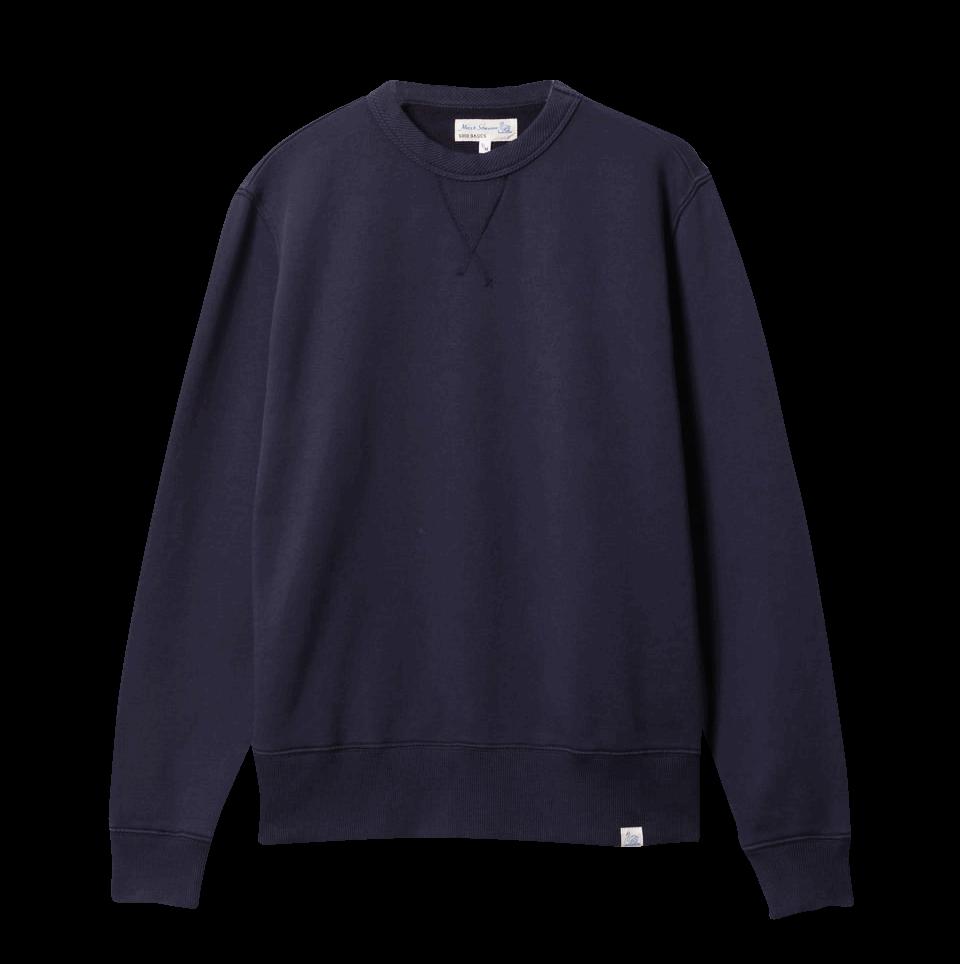 Merz b. Schwanen G.B. Sweatshirt - denim blue