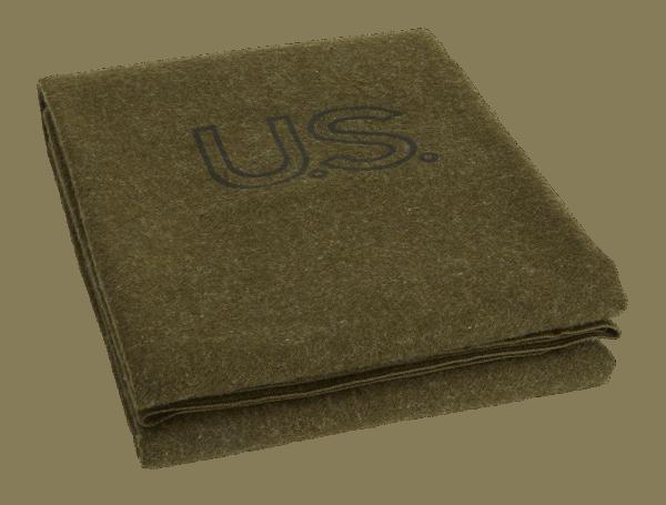 Faribault Foot Soldier Blanket Army Green US 64x90 inch / 160x230cm