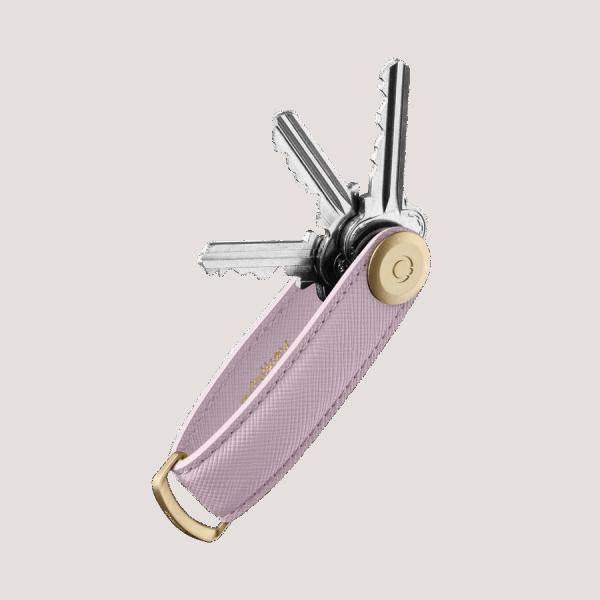 Orbitkey 2.0 Saffiano Leather Lilac
