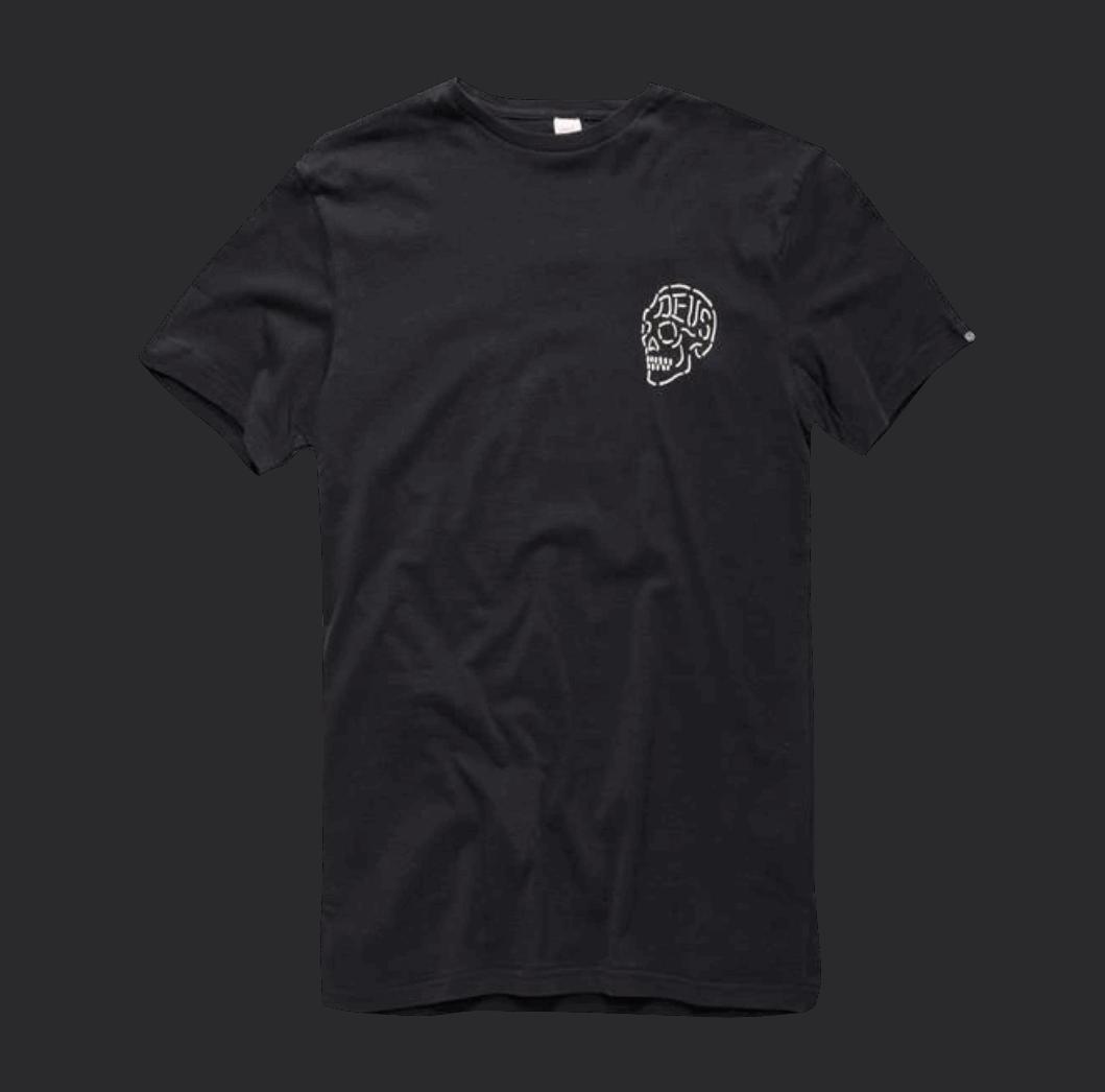 Deus Venice Skull - Black