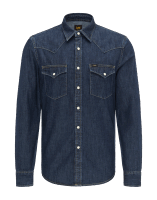 LEE Western Shirt Blue Book