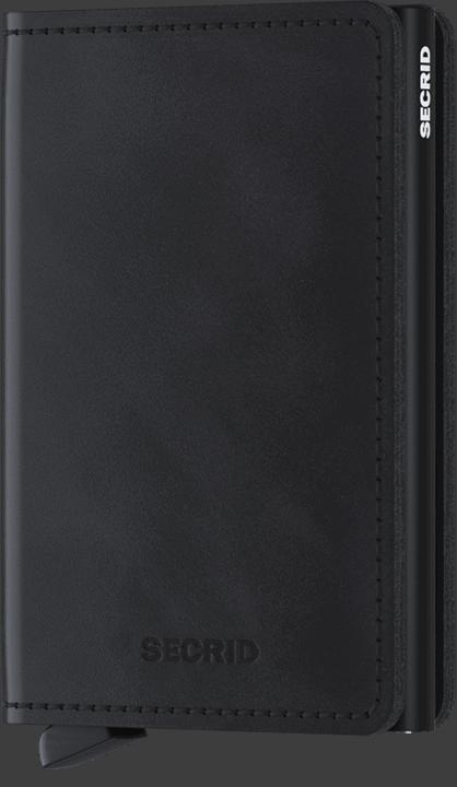 Secrid Slimwallet - Vintage - black