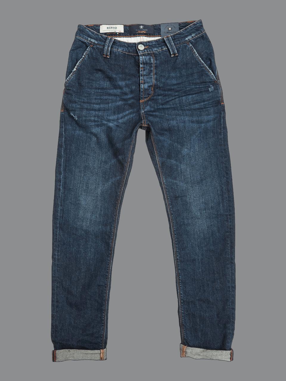 BLUE DE GENES Paulo Nevada Dark Jeans