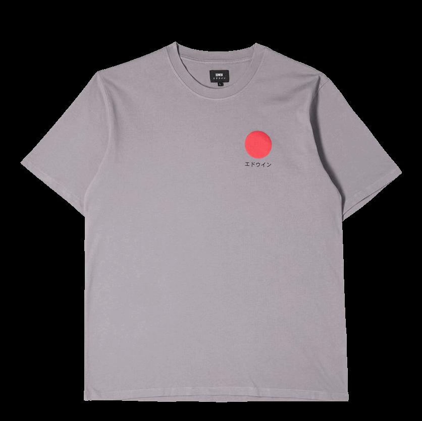 Edwin Japanese Sun T-Shirt - frost grey