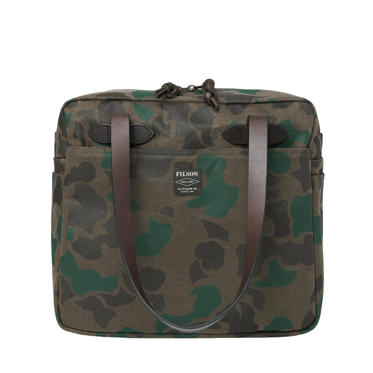 Filson Zip Tote Bag - Camo