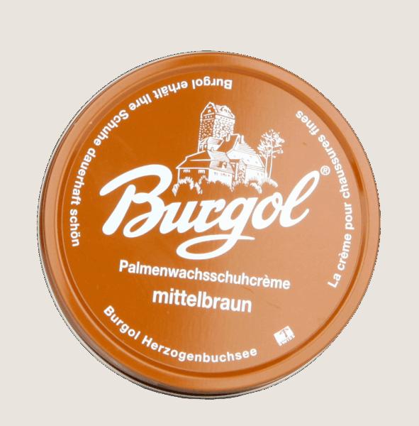 Burgol Palmenwachsschuhcreme, hellbraun - 05