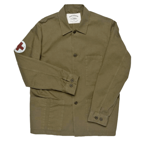 Portuguese Flannel Army Medic Jacket