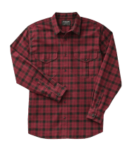 Filson LT Alaskan Guide Shirt - oxblood/black