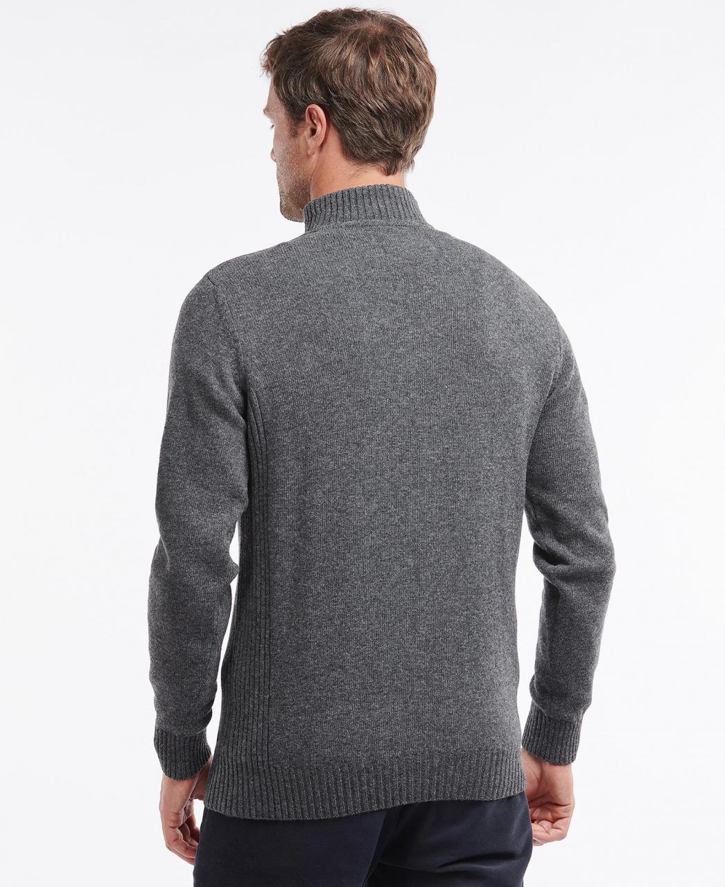 Barbour Nelson Essential Half Zip - storm grey