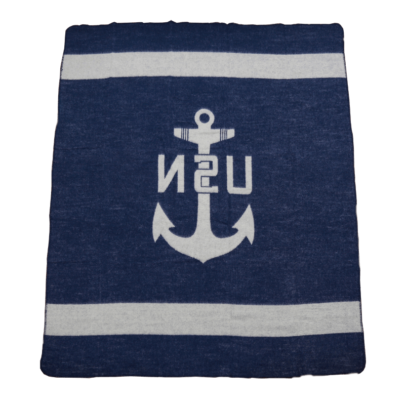 Pike Brothers 1969 USN Blanket Navy