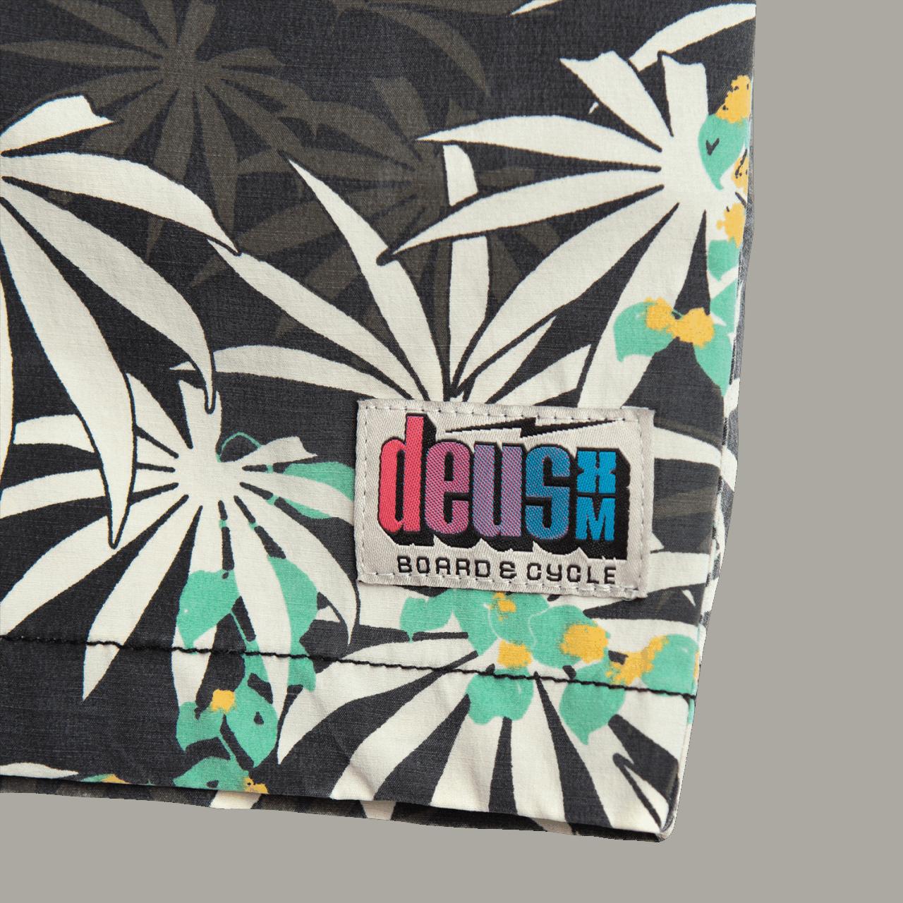 Deus Sandbar Monkey Puzzle Shorts - Black