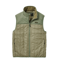 Filson Ultra Light Vest - olive branch / green