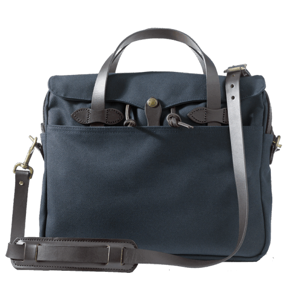Filson Rugged Twill Original Briefcase - Navy