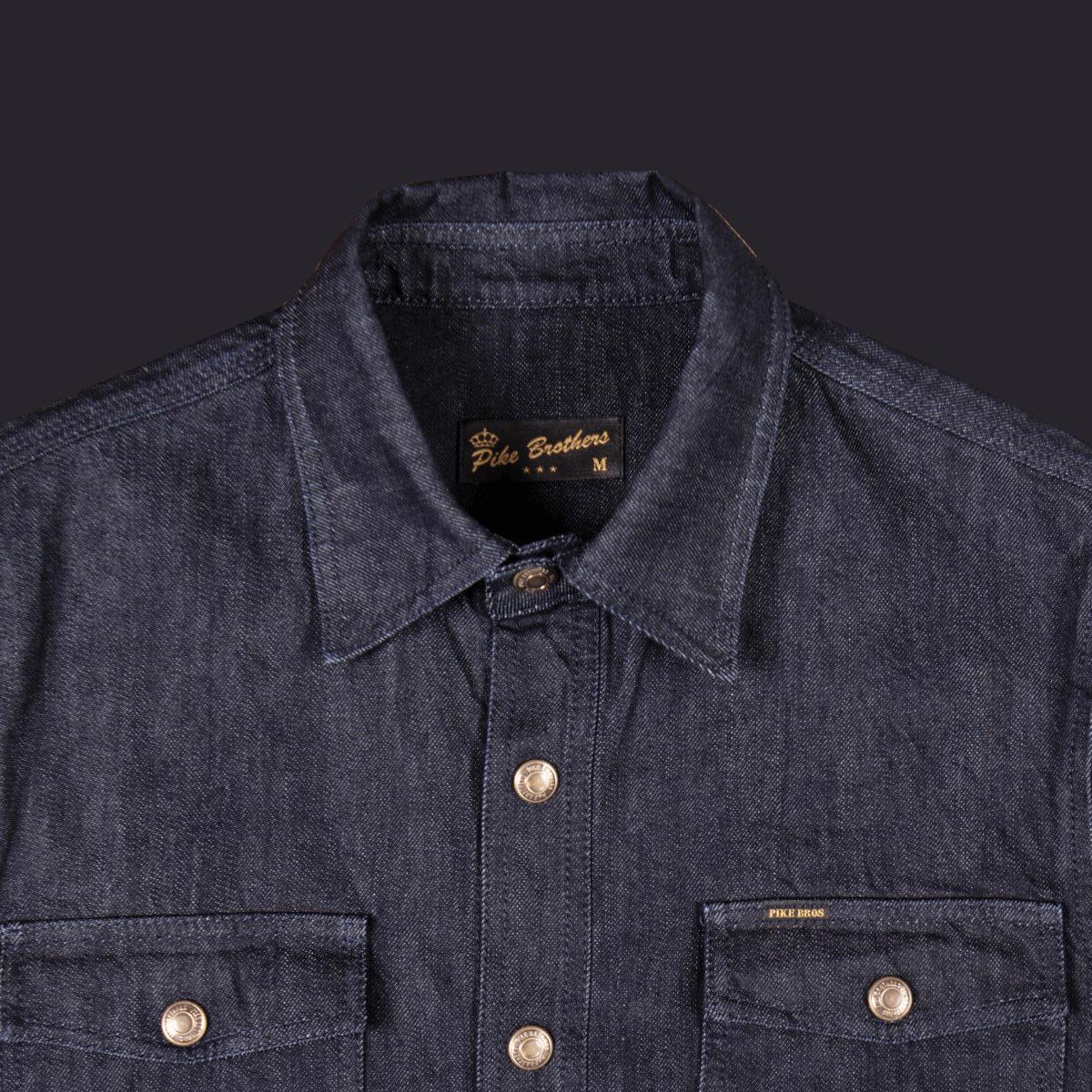 Pike Brothers 1943 CPO Shirt - indigo