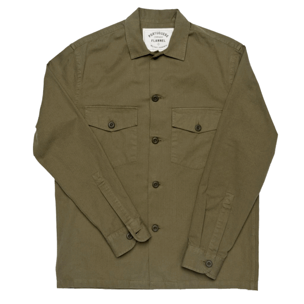 Portuguese Flannel Army Shirt