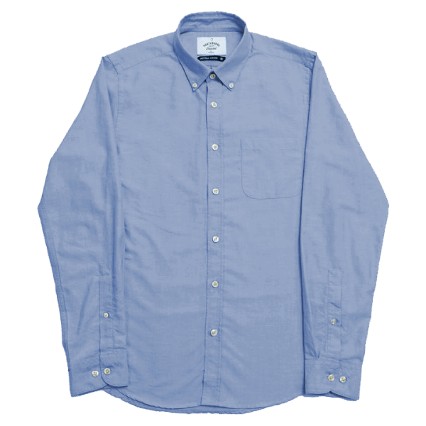 Portuguese Flannel Oxfordshirt Videira - blue