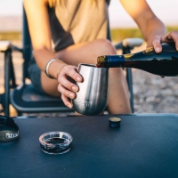 YETI Rambler Wine Tumbler (300ml) - steel