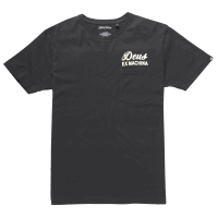 Deus Venice Address Pocket Tee - black