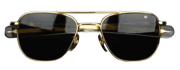 AO Eyewear Original Pilot - gold - grau