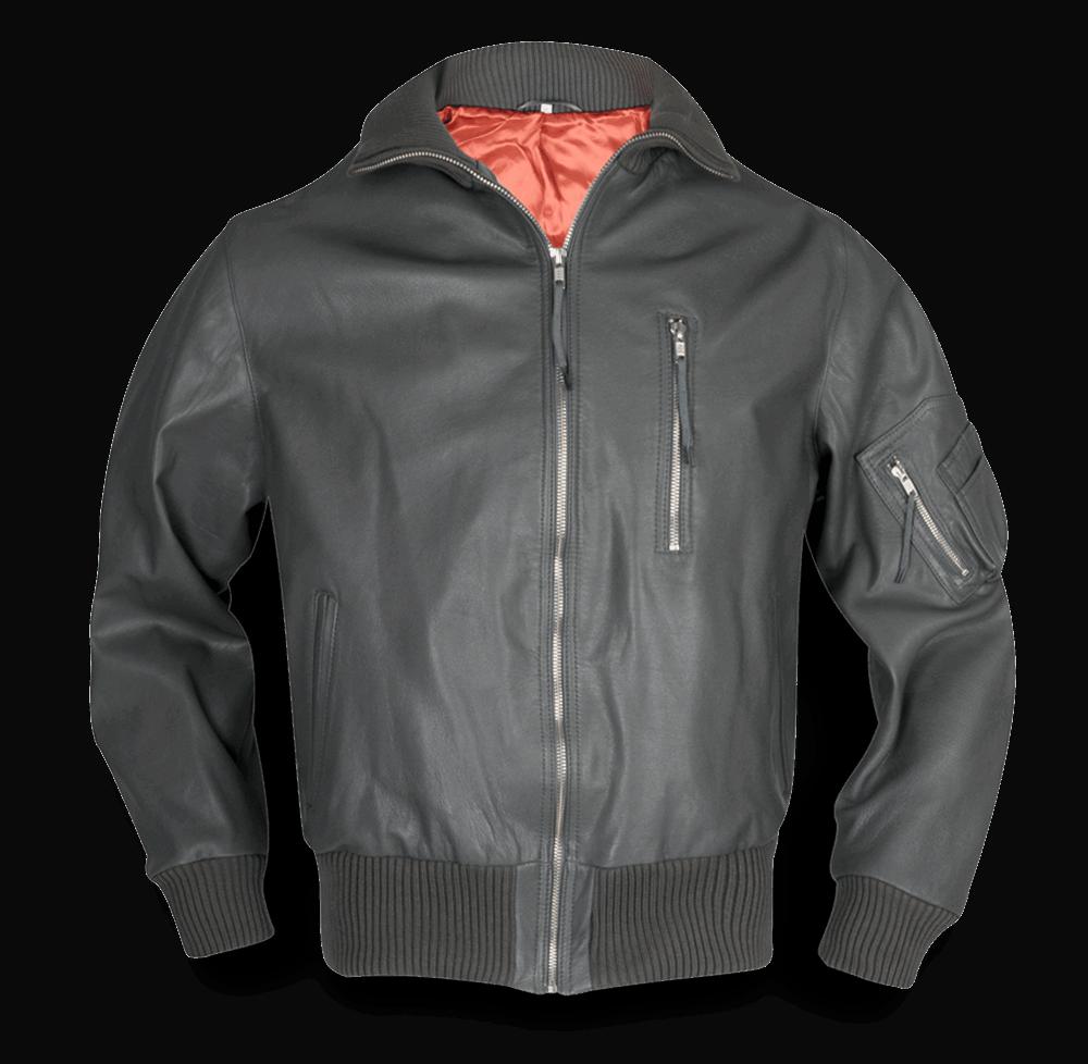 Original Flight Jacket - Bundesluftwaffe with Side Pockets - basaltgrau