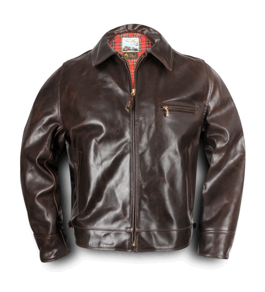 AERO LEATHER HIGHWAYMAN – THE ORIGINAL - BROWN