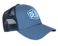 Deus Woven Shield Trucker - soft blue