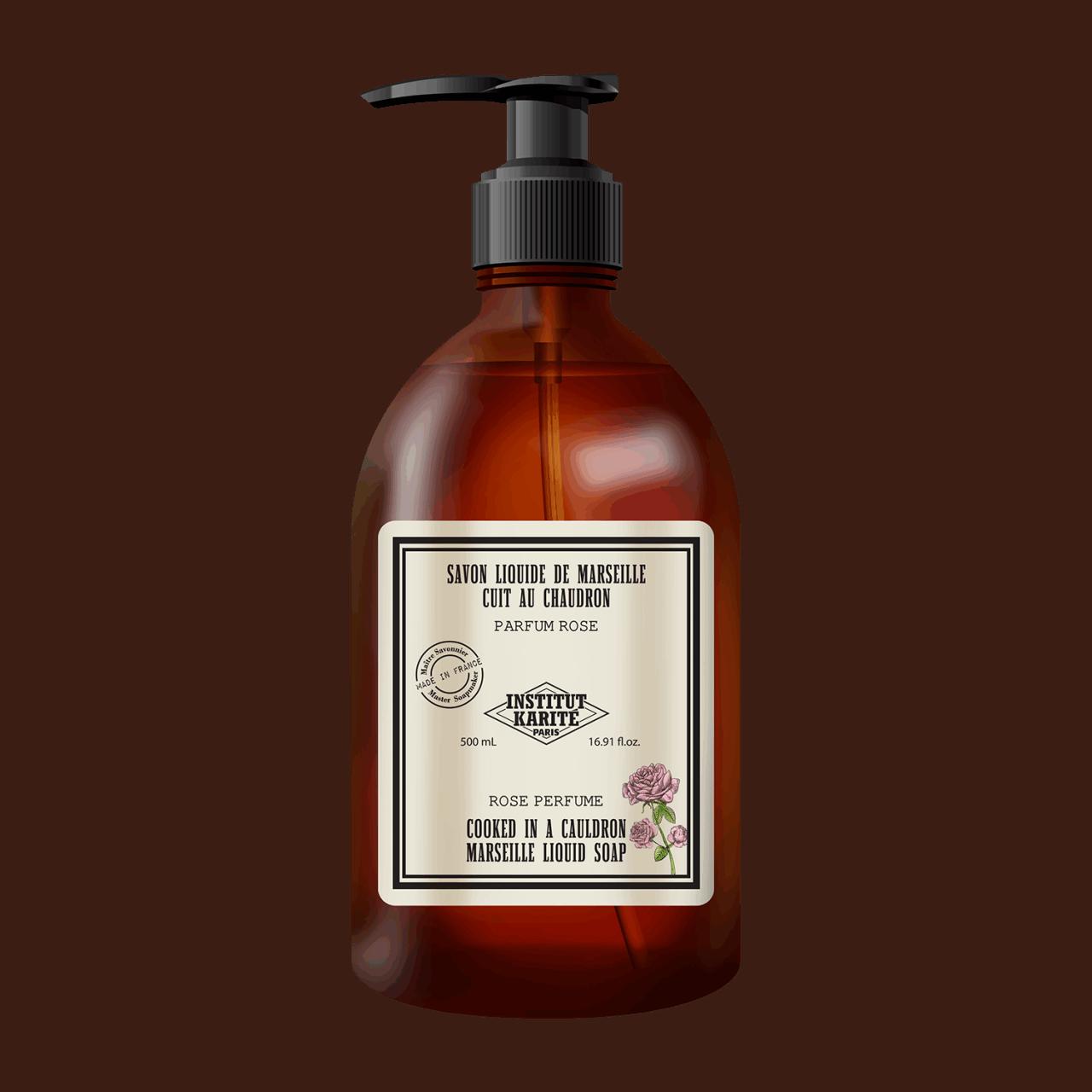 Vintage Marseille Liquid Soap - Rose 500ml