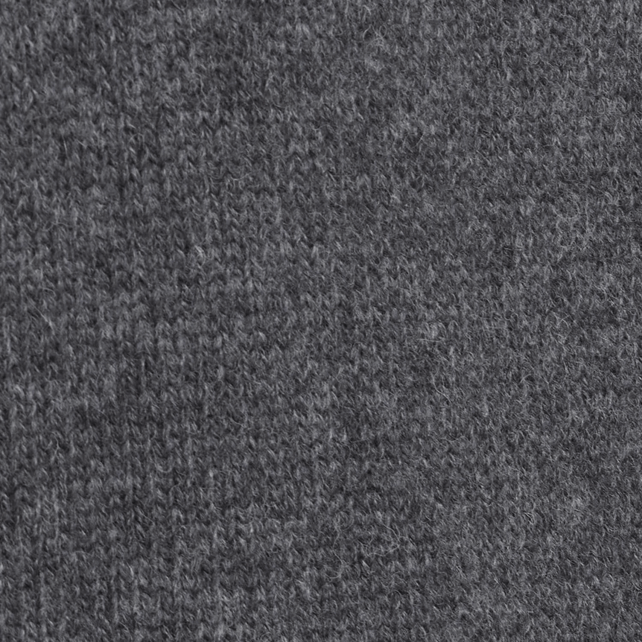 Barbour Calder Knitted Zip - charcoal marl