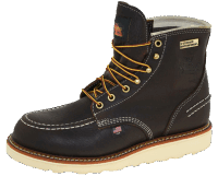 "Thorogood 814-3600 6"" Moc Toe Waterproof Brown"