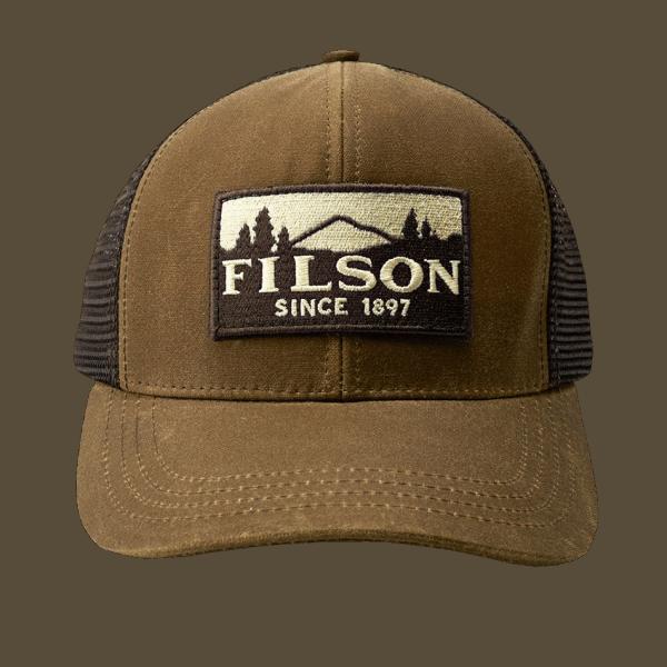 Filson Logger Mesh Cap - Dark Tan