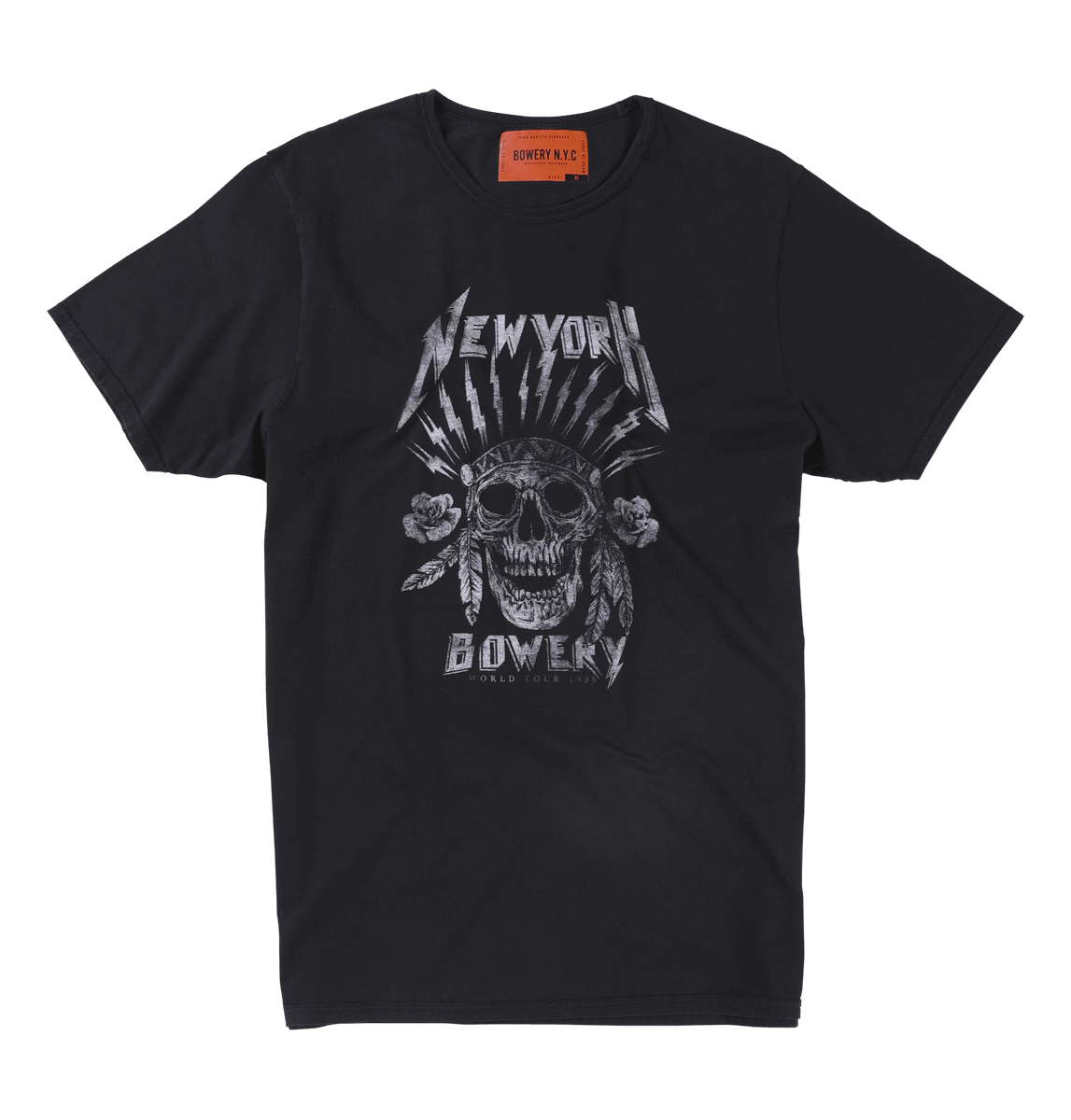 Bowery NYC - New York Skull - Black