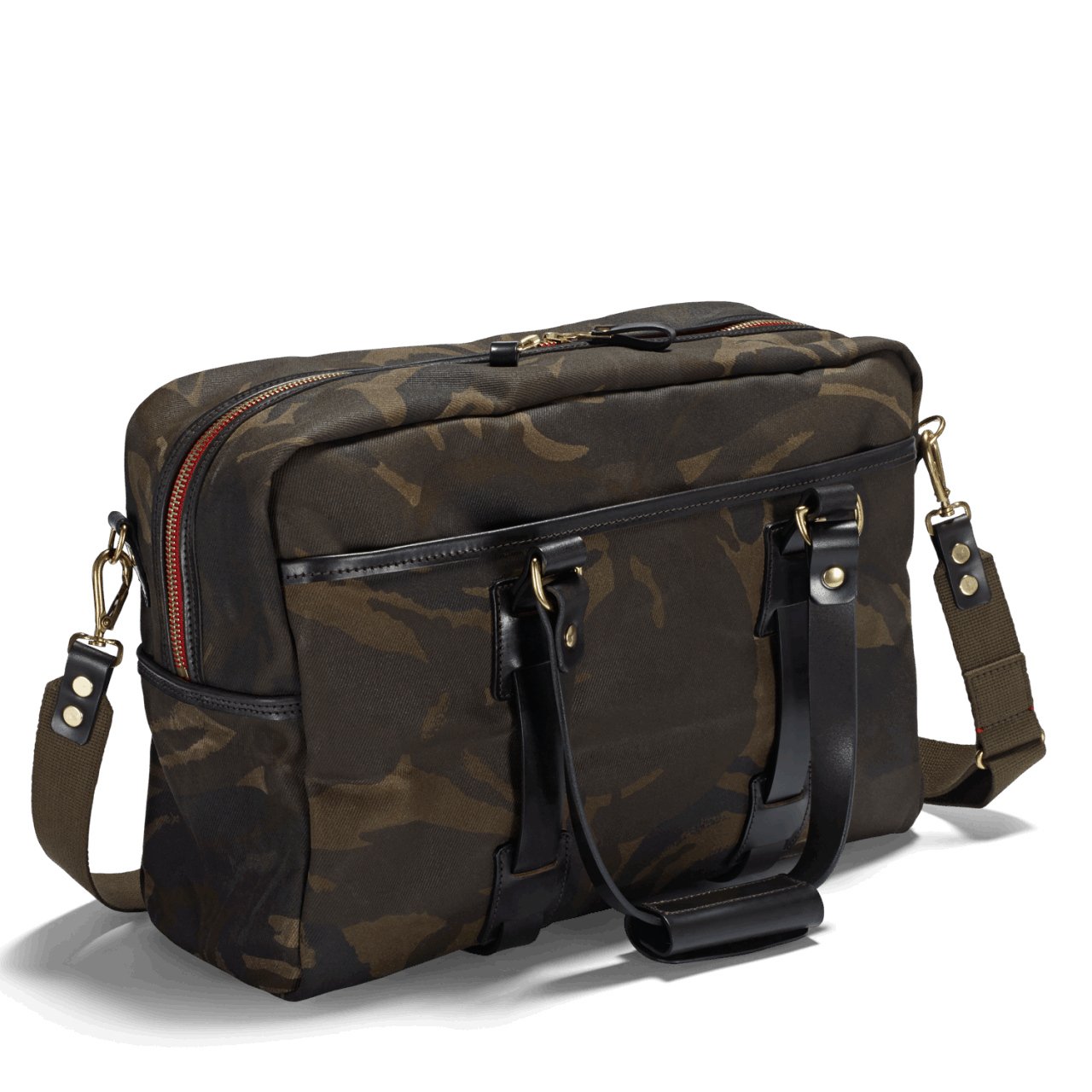 Croots Waxed Camo Traveller Bag