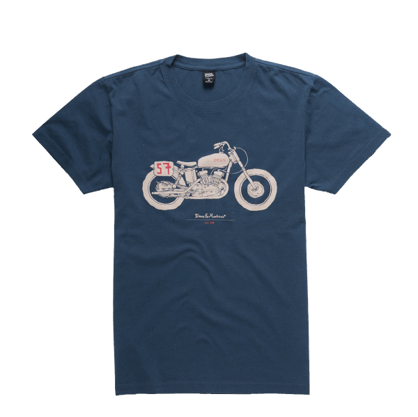 Deus The Kr Tee - navy