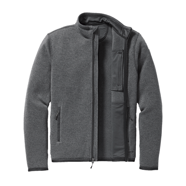 Filson Ridgeway Fleece Jacke - charcoal heather
