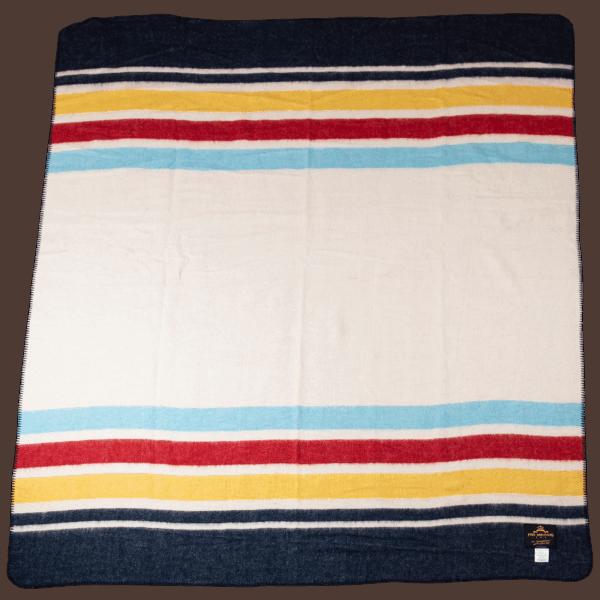 Pike Brothers 1969 Hudson blanket ecru